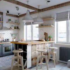 Cocinas de estilo  por Elena Arsentyeva