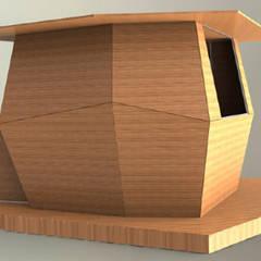 kiosk: Terraços  por Marcos Alves Design