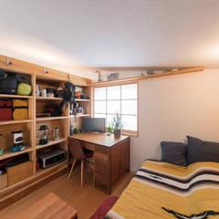 寝室: FAD建築事務所が手掛けた寝室です。,