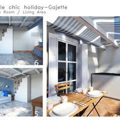 Casa per vacanze: Terrazza in stile  di 4rch Gruppo di Architettura