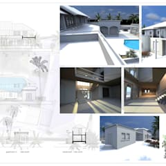 Casa Rokx, Willemstad Curaçao:  Huizen door architectenbureau Aerlant Cloin BNA,