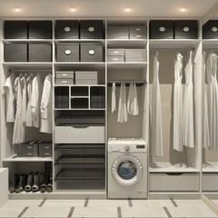 Дизайн-проект квартиры в ЖК Москва А101: Гардеробные в . Автор – Aledoconcept, Модерн