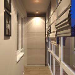 Дизайн-проект квартиры в ЖК Москва А101: Тренажерные комнаты в . Автор – Aledoconcept