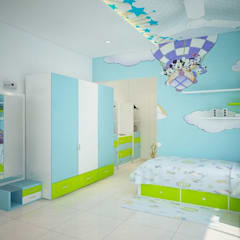 Nursery/kid's room by ACE INTERIORS