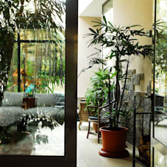 Загородный дом Армен Мелконян Зимний сад в стиле модерн