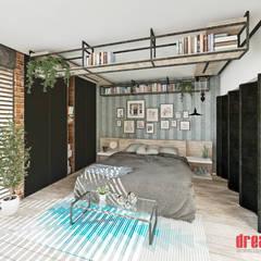 Habitación: Recámaras de estilo  por Estudio Meraki