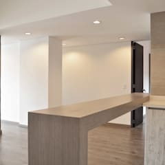 APARTAMENTO 104: Comedores de estilo  por santiago dussan architecture & Interior design