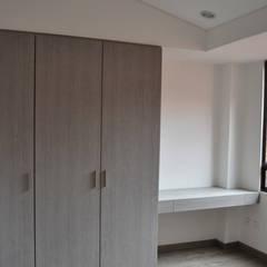 APARTAMENTO 104: Habitaciones de estilo  por santiago dussan architecture & Interior design