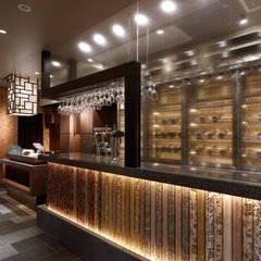 Chinese Restaurant SHAHODEN: 株式会社オムドが手掛けたワインセラーです。