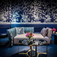 Blue Corridor:  Gang en hal door Ethnic Chic Home Couture