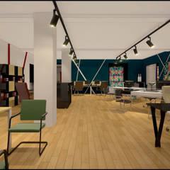 Шоурум магазина офисной мебели ЮНИТЕКС на Шоссе Энтузиастов: Офисы и магазины в . Автор – TUR4ENKONATALY design space,