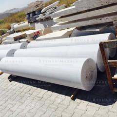 Reyhan Mermer Sanayi Ltd. – Ankara Grand Mosque Marble Columns:  tarz Duvarlar