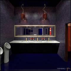 Дизайн кафе LIBRA: Бары и клубы в . Автор – TUR4ENKONATALY design space
