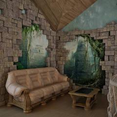 Бассейн. Зов джунглей.: Бассейн в . Автор – DADA-Design