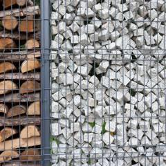 Projekt wnętrz domu w Białołęce: styl , w kategorii Ogród zaprojektowany przez mech.build