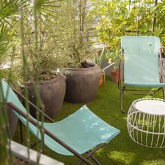 la réconciliation...: Terrasse de style  par L'esprit au vert