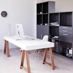 Ruang Kerja oleh SALA VISCOM, Modern Kayu Wood effect