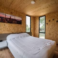 VIMOB by COLECTIVO CREATIVO : Habitaciones de estilo  por COLECTIVO CREATIVO, Moderno