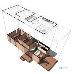 VIMOB: Casas de estilo  por COLECTIVO CREATIVO