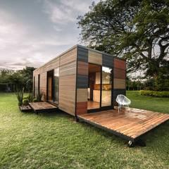 VIMOB: Terrazas de estilo  por COLECTIVO CREATIVO
