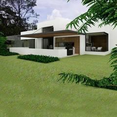 Casa la Unión: Casas de estilo clásico por FR ARQUITECTURA SAS