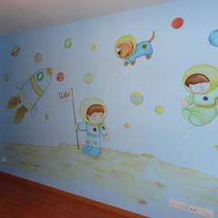Murales infantiles: Dormitorios infantiles de estilo  de DecoPared