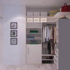 غرفة الملابس تنفيذ Alyona Musina