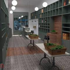 COLMADO: Espacios comerciales de estilo  de Nuria Decor3D