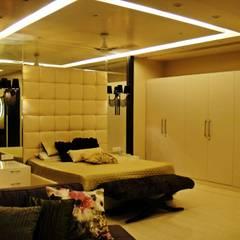 Residence Design, Sandesh Vihar:  Bedroom by H5 Interior Design