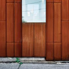 Cheminements: Murs de style  par JADE MORELLI ARCHITECTE