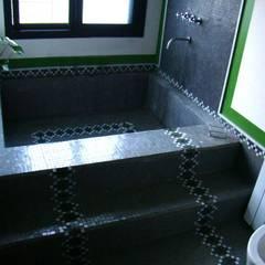 BAÑOS LN: Baños de estilo  por LN-arquitectura,Moderno