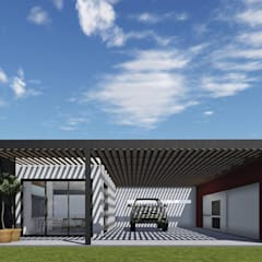 Garagebox door ARBOL Arquitectos