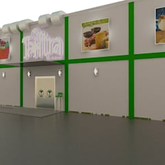 Diseño de Tantra Bar & Lounge: Bares y Clubs de estilo  por Sixty9 3D Design