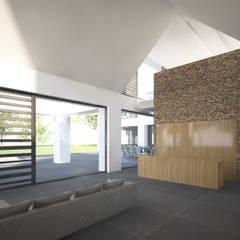 Villa JSPE:  Spa door 2architecten