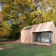 Estudios de cubiertas inclinadas 5: Casas de estilo  de ecospace españa