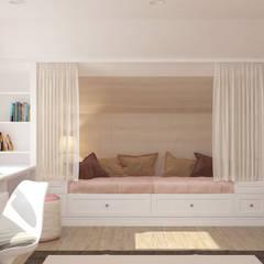 غرفة الاطفال تنفيذ Brama Architects , إنتقائي ألواح خشب مضغوط