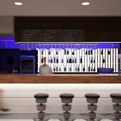 Советская Matrix Bar и GJG: Бары и клубы в . Автор – Brama Architects
