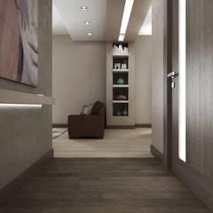 CASA AM: Ingresso & Corridoio in stile  di De Vivo Home Design