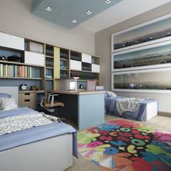 CASA AM: Stanza dei bambini in stile  di De Vivo Home Design