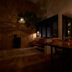 Ruang Keluarga Klasik Oleh Mimasis Design/ミメイシス デザイン Klasik
