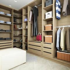CASA DT: Spogliatoio in stile  di De Vivo Home Design