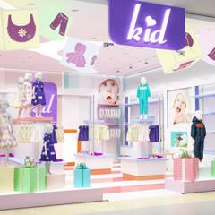 Бутик детской одежды: Торговые центры в . Автор – Студия архитектуры и дизайна ДИАЛ