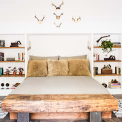 Truckee Residence Eclectic style bedroom by Antonio Martins Interior Design Inc Eclectic
