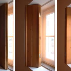 Habitação.Monte Alentejano I.Arraiolos Janelas e portas rústicas por BL Design Arquitectura e Interiores Rústico