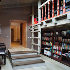Библиотека: Медиа комнаты в . Автор – Творческая Мастерская Владимира Романова
