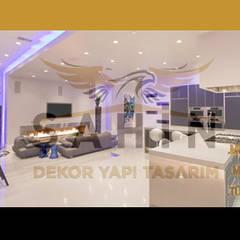 ŞAHİN DEKOR YAPI TASARIM RAMAZAN ŞAHİN – ŞAHİN DEKOR YAPI TASARIM Ramazan ŞAHİN:  tarz Ofisler ve Mağazalar