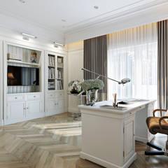 Study/office by Дарья Баранович Дизайн Интерьера