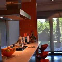 Private house building in Lousada (Portugal): Cozinhas  por Dynamic444