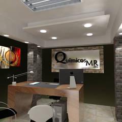 Proyecto de remodelacion para oficina, Zona Industrial, Valencia, Venezuela.: Oficinas de estilo  por Arq. Susan W. Jhayde