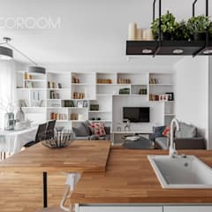 Living room by Decoroom,